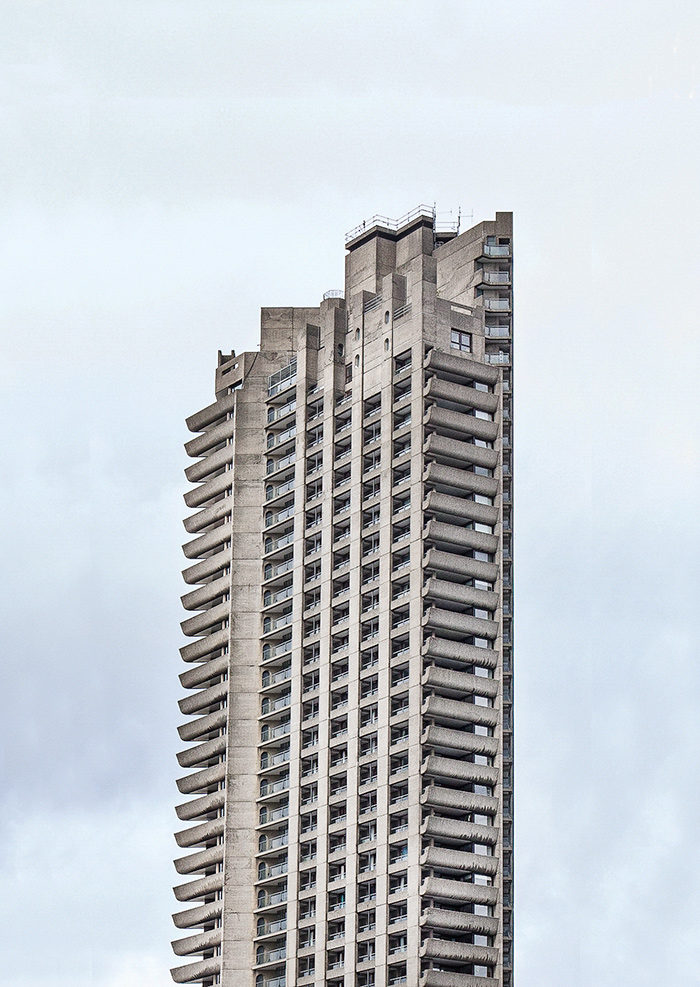 CROMWELL TOWER, BARBICAN ESTATE I ©HEARTBRUT / KARIN HUNTER BÜRKI