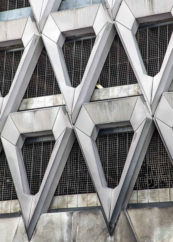 Welbeck Street Multi Storey Car Park. Built by Michael Blampied & Partners, London 1970 I © HEARTBRUT 2019