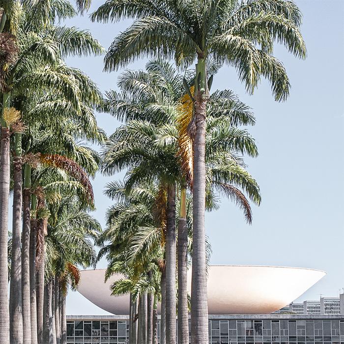 BRASILIA, MONUMENTAL AXIS, PARLIAMENT BUILDING, OSCAR NIEMEYER I © HEARTBRUT / KARIN HUNTER BÜRKI
