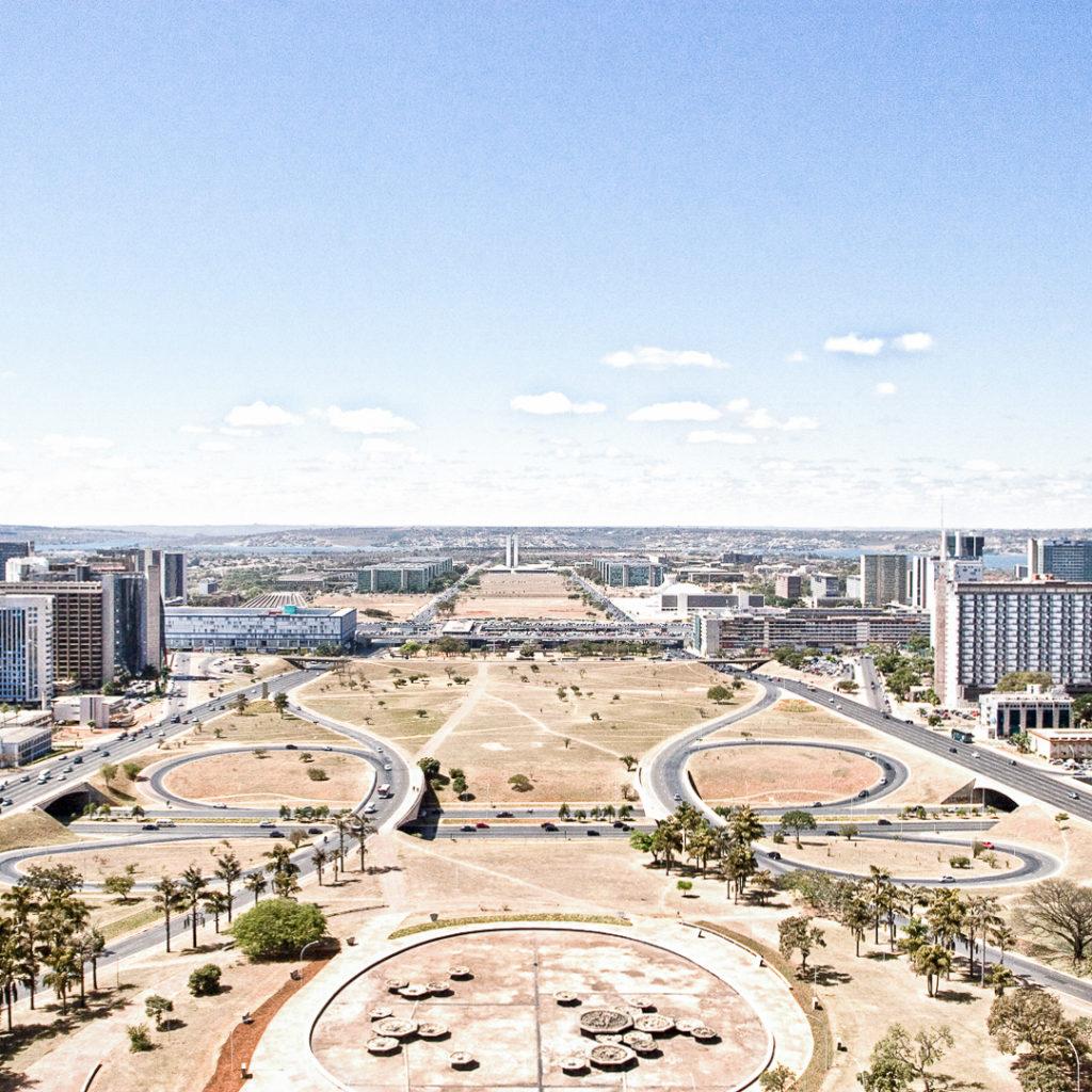 BRASILIA, TELEVESION TOWER, MONUMENTAL AXIS, OSCAR NIEMEYER I ©HEARTBRUT / KARIN HUNTER BÜRKI