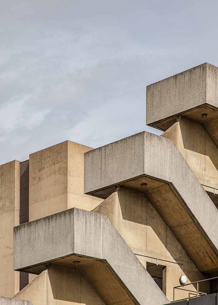UCL INSTITUTE OF EDUCATION, DENYS LASDUN, LONDON 1975 I ©HEARTBRUT/KARIN HUNTER BÜRKI 2019