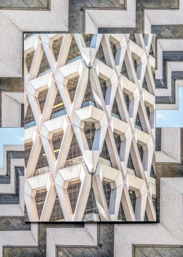 WELBECK CAR PARK, LONDON I BIG CARD A5 I © HEARTBRUT / KARIN HUNTER BÜRKI