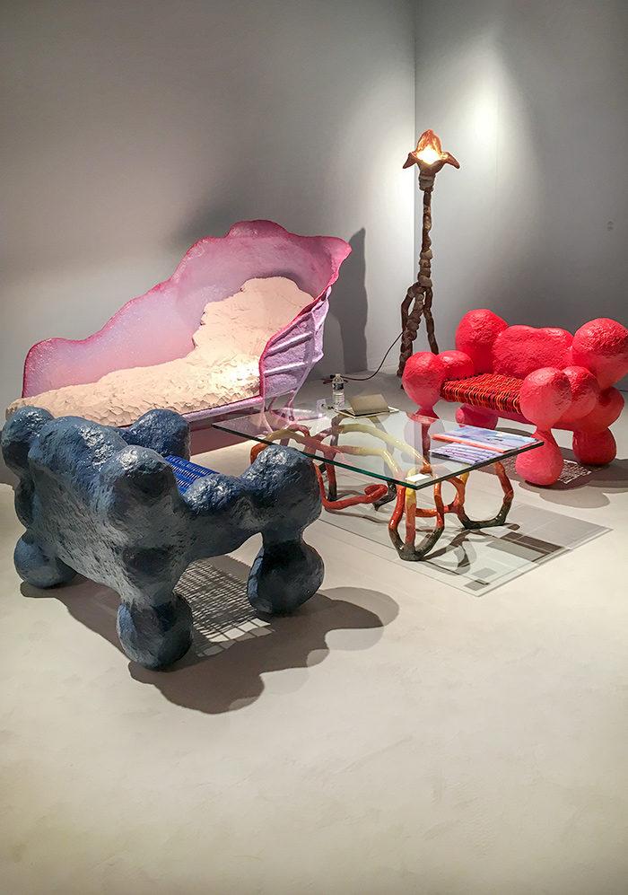 OrtaMiklos, Decadence Presentation at Functional Art Gallery, Design Miami / © HEARTBRUT / Karin Hunter Bürki