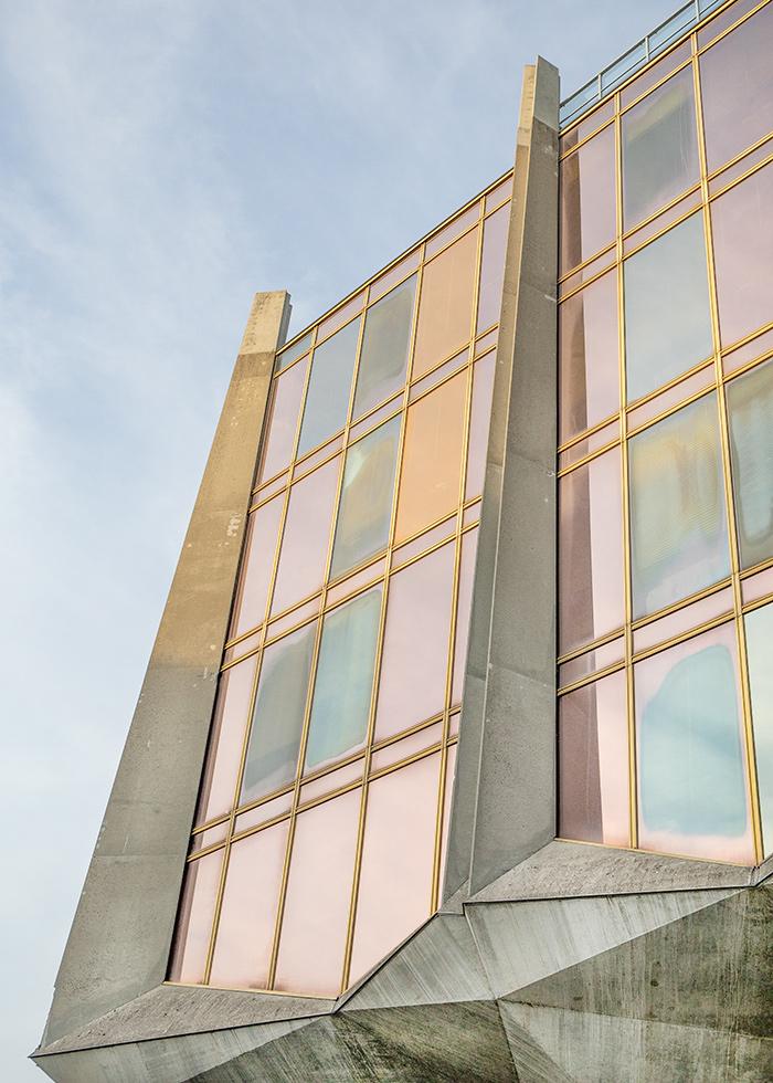 La Tulipe (The Tulipe), Jack Bertoli, Geneva 1976 I Brutalism, Swiss architecture I © HEARTBRUT / Karin Hunter Bürki