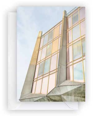 Brutalist Beauties 2,set of 6 postcards A6, La Tulipe (The Tulip),Jack Bertoli, Geneva, Swiss Brutalism I Heartbrut / © Karin Hunter Bürki