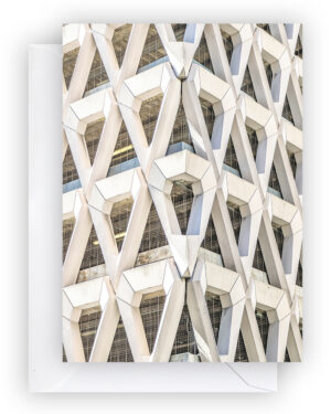Brutalist Beauties 2, set of 6 postcards A6, Welbeck Street Car Park, Michael Blampied & Partners, London 1870, Brutalism I Heartbrut / © Karin Hunter Bürki