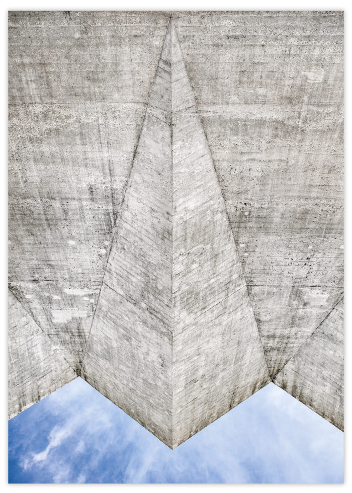 Masonry Hall limited edition art print A3 I © Heartbrut / Karin Hunter Bürki