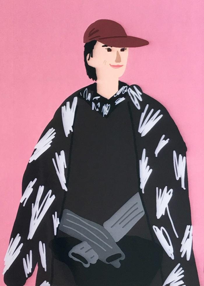 Karin Hunter Bürki by Sqizzy P., 2019