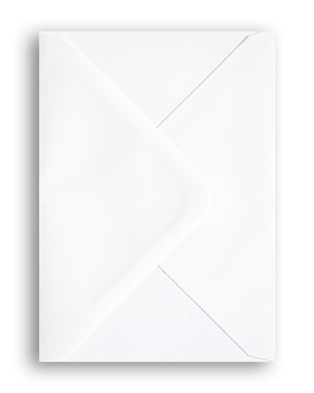 Premium white envelope, A6