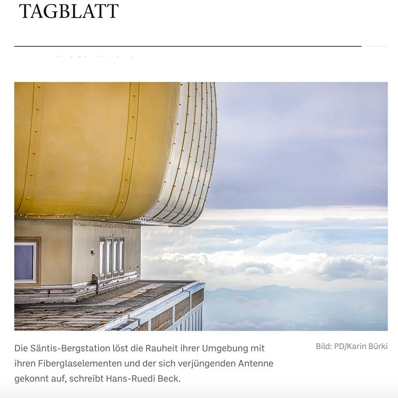 Carte Brute, Press Clipping, Tagblatt, Swiss Brutalism, Schweizer Brutalismus, Beton, Concrete, Ostschweiz I © Karin Bürki / Heartbrut.com, 2021